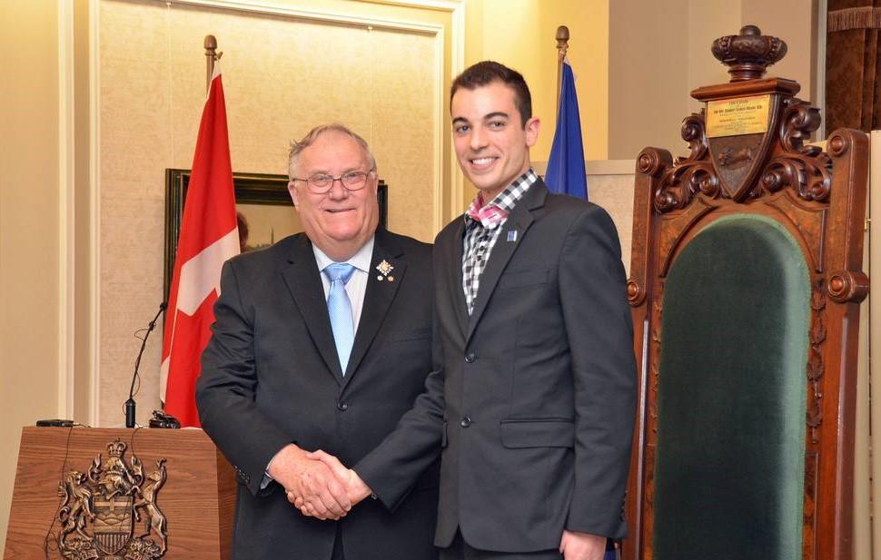 Charles Bernatchez Caring Canadian Award